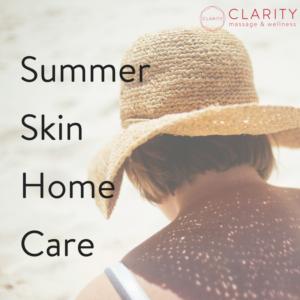 Summer Skincare at Clarity Wellness