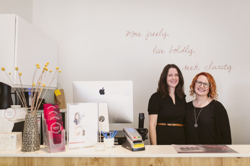 friendly admin staff at clarity wellness centre north adelaide