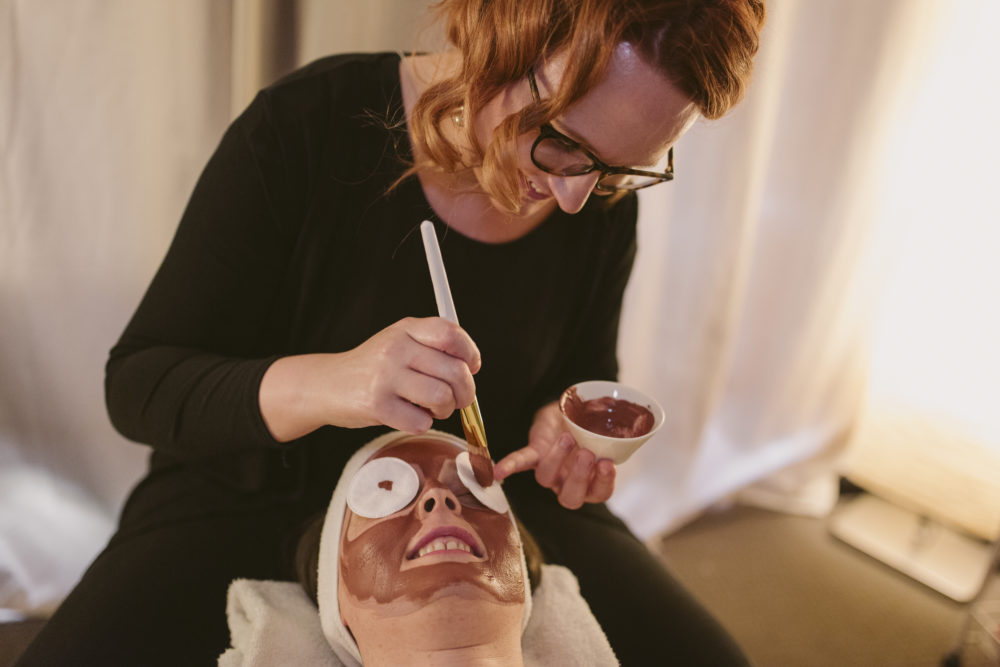 organic facial at Clarity massage and wellness centre north adelaide