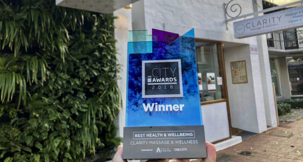 Clarity Massage and Wellness Adelaide's Best Health & Wellbeing Centre 2018