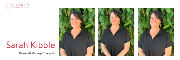 Sarah Kibble Remedial Massage Therapist Clarity Wellness North Adelaide
