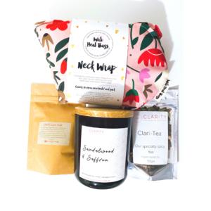 Clarity Massage & Wellness gift packs
